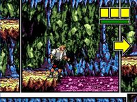 Comix Zone, capture décran